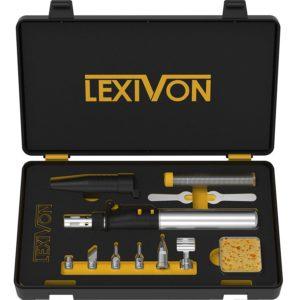 LEXIVON Butane Soldering Iron Multi-Purpose Kit