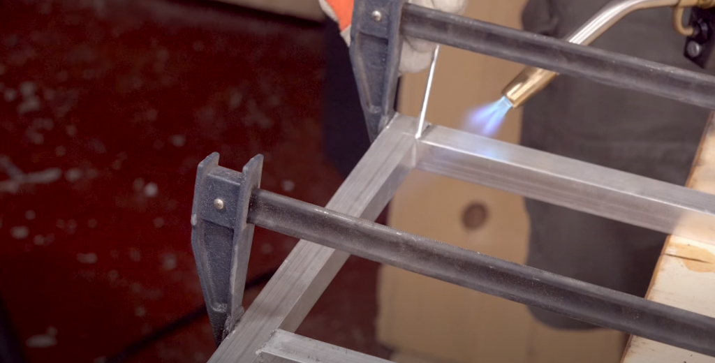 Soldering aluminum tutorial