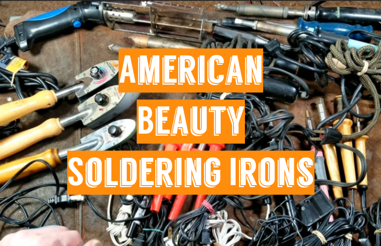 5 American Beauty Soldering Irons