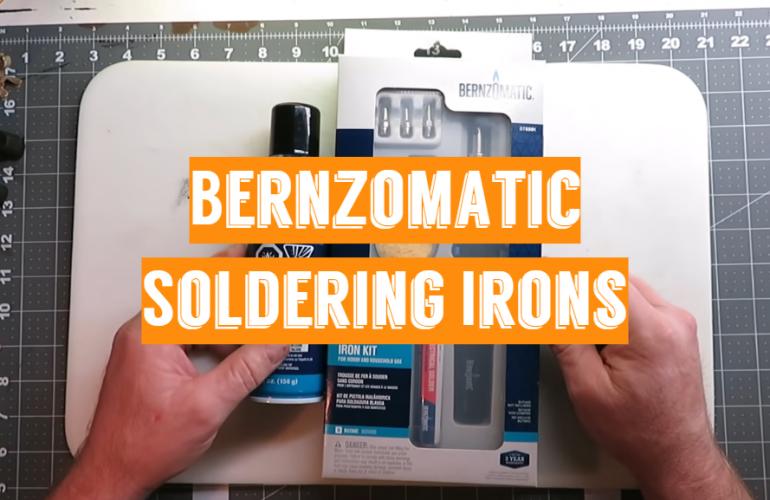 5 Bernzomatic Soldering Irons
