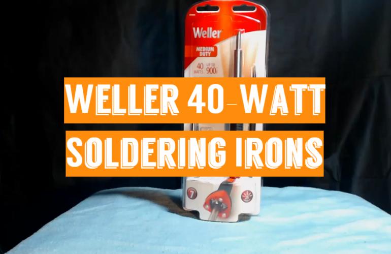 5 Weller 40-Watt Soldering Irons