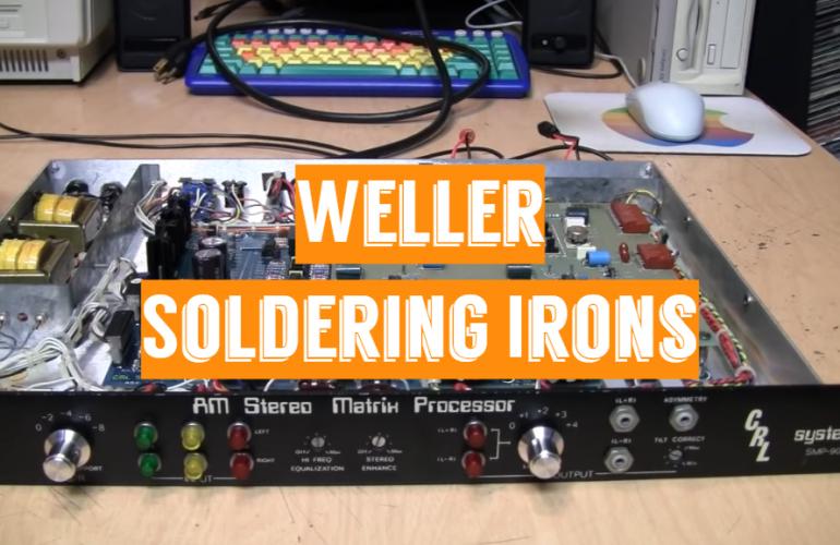 5 Weller Soldering Irons