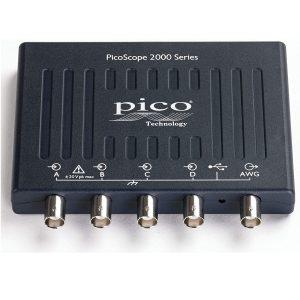 PICO TECHNOLOGY PICOSCOPE 2406B USB Oscilloscope, Digital Triggering, PicoScope 2200B Series, 4 Analogue, 50 MHz, 1 GSPS, 32 Mpts