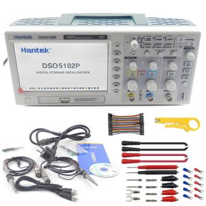 Hantek DSO5102P Digital Storage Oscilloscope USB 100MHz