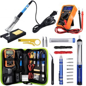 Anbes Soldering Iron Kit 60W Adjustable Temperature