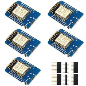 IZOKEE Development Board for ESP8266 ESP-12F 4M Bytes WLAN WiFi Internet Development Board Compatible with Arduino